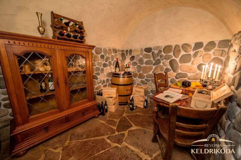 Viinikellari Hiidenmaalla