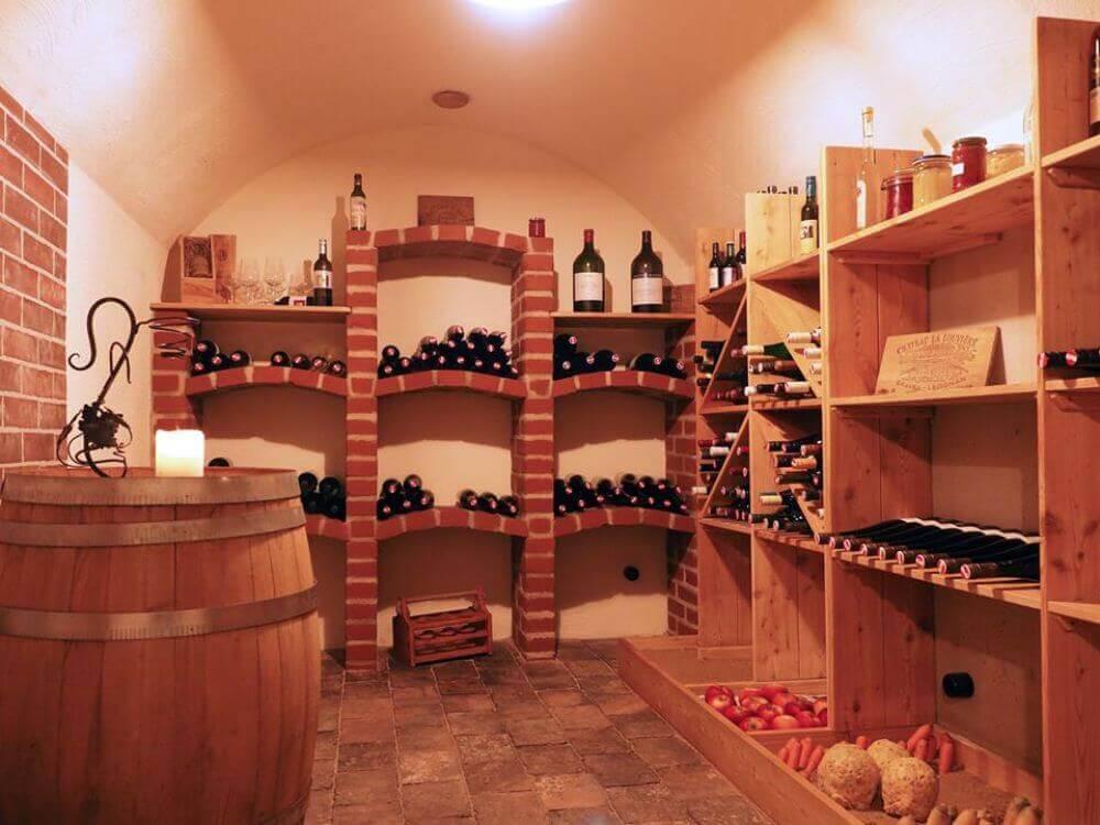 Viinikellari Itävallassa