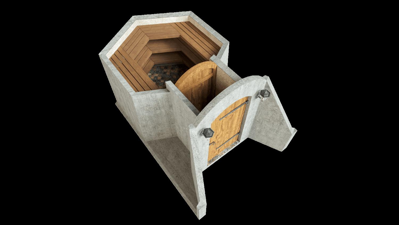 Kellari 4,5 m² PERUSPAKETTI