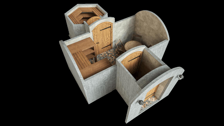 Kellari 16,2 m² PERUSPAKETTI